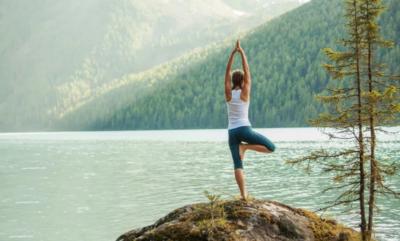 Yoga nelle Dolomiti